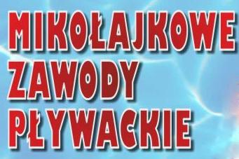 Ilustracja do informacji: XIV Mikołajkowe Zawody Pływackie