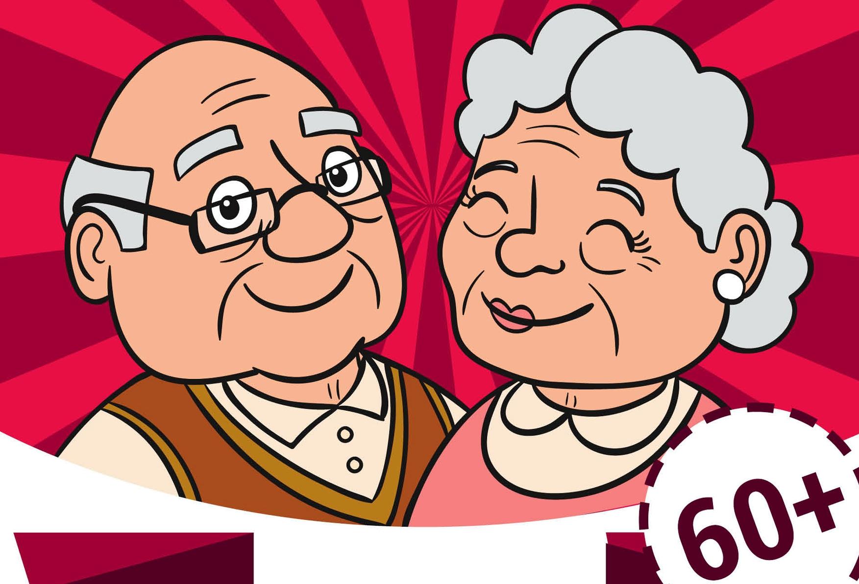 Ilustracja do informacji: Dzień Seniora