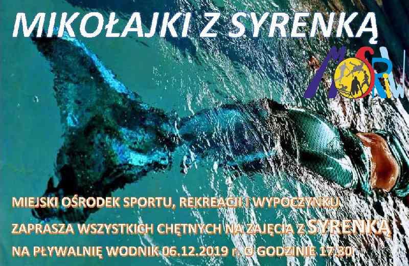 Ilustracja do informacji: Mikołajki z Syrenką