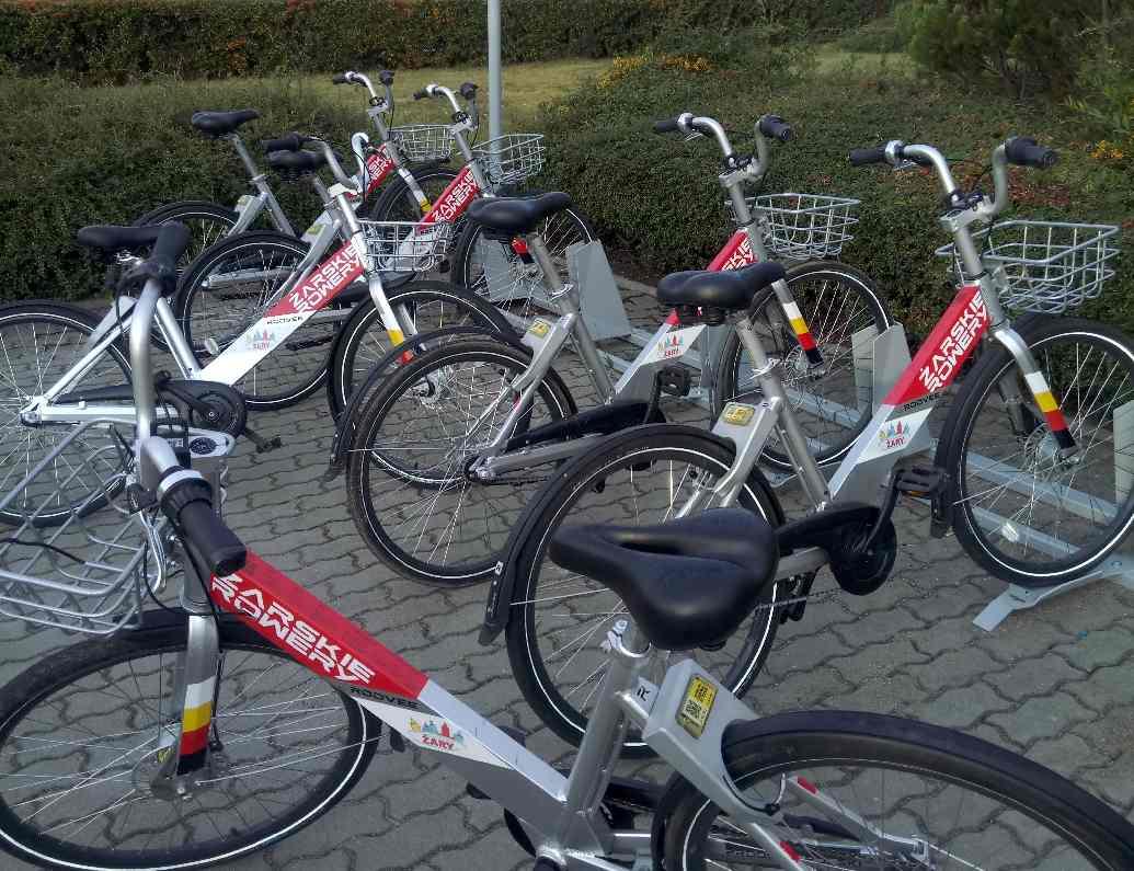 Żarskie Rowery - wyruszają na drogi