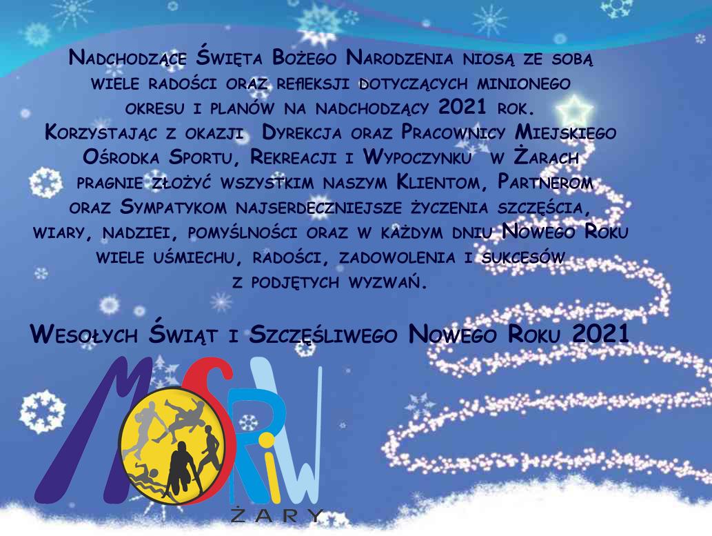 Ilustracja do informacji: Wesołych Świąt i Szczęśliwego Nowego Roku